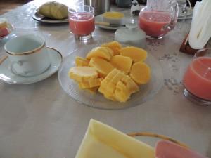 Maiskoek, zoet van de pure smaak van mais