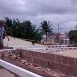 Het plaatsen van de constructie