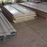 De plafond isolatie platen